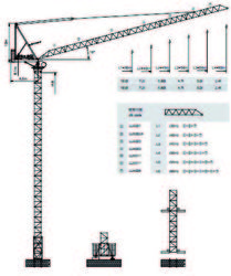 Dubai Luffing Crane -Yongmao Luffing CraneSTL260 from House Of Equipment Llc  Dubai,