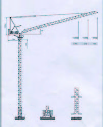 Dubai Tower Crane -A ... from House Of Equipment Llc Dubai, UNITED ARAB EMIRATES