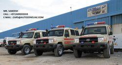 TOYOTA ARMOURED AMBULANCE from Auto Zone Armor & Processing Cars Llc   Ajman,