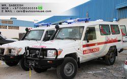 TOYOTA LAND CRUISER HARDTOP AMBULANCE  from Auto Zone Armor & Processing Cars Llc   Ajman,