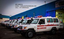 TOYOTA 4X4 AMBULANCE from Auto Zone Armor & Processing Cars Llc   Ajman,