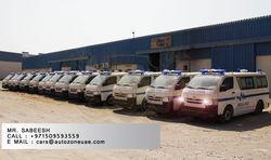 TOYOYA HIACE VAN AMBULANCE  from Auto Zone Armor & Processing Cars Llc   Ajman,