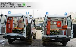 TOYOTA AMBULANCE FOR SALE from Auto Zone Armor & Processing Cars Llc   Ajman,