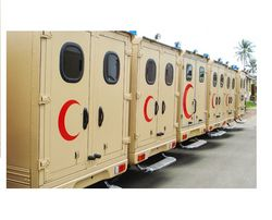 TOYOTA MILITARY AMBULANCE from Auto Zone Armor & Processing Cars Llc   Ajman,