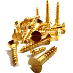 Brass Wood screw