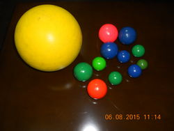 POLYURETHANE BALLS