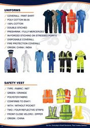 SAFETY COVERALLS PAN ... from  Dubai, United Arab Emirates