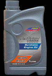 PLATINUM 10000 SYNTHETIC ENGINE OIL UAE from Abdul Rahim Darhoon Int.lubricants Ind.l.l.c  Sharjah,