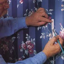 Wall Paper Fixing