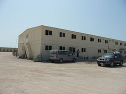 BUILDING PORTABLE from Aventis General Maint. Cont.  Ajman,
