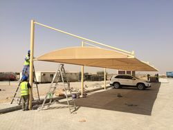 CAR PARK SHED from Aventis General Maint. Cont.  Ajman,