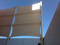 TENT SHADE from Aventis General Maint. Cont.  Ajman,