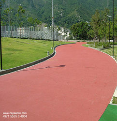 Jogging Track Systems Specialist in Dubai, UAE from Zayaanco  Sharjah,