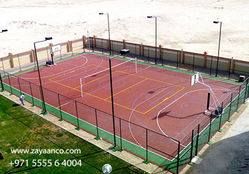 Running Track Manufacturer in Abu dhabi, UAE from Zayaanco  Sharjah,