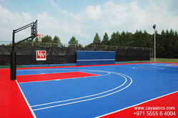 Outdoor Basketball Court Contractor in Dubai, UAE from Zayaanco  Sharjah,