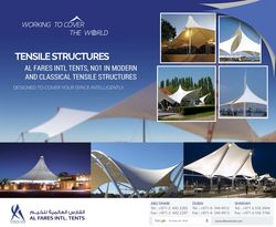 TENSILE FABRIC STRUCTURES from Al Fares International Tents  Sharjah,