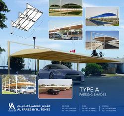 CAR PARK SHADES from Al Fares International Tents  Sharjah,