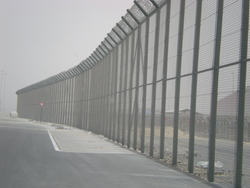 Airport Security Fence suppliers from Link Middle East Ltd Dubai, UNITED ARAB EMIRATES