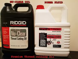THREAD CUTTING OIL RIDGID AND MACSTROC in UAE