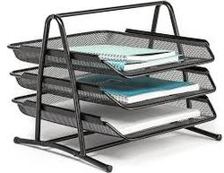 Paper Tray Metal 3 Tier, Business - Marketplace