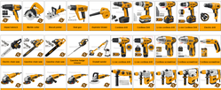 Power tools suppliers in Qatar from Aerodynamic Trading Contracting & Services  Doha,