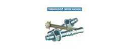 WEDGE ANCHOR suppliers in Qatar from Aerodynamic Trading Contracting & Services  Doha,