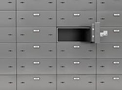 BULLET PROOF LOCKER from Keepsecure Safety Deposit Vaults Rental Llc  Dubai,