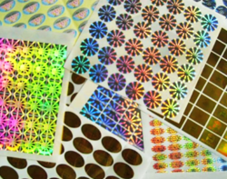 2D / 3D HOLOGRAMS STICKERS