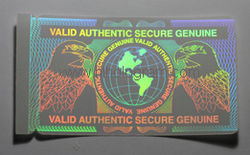HOLOGRAM ID OVERLAY from Mazan Holo Tech  Holography  Dubai,