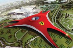 FERRARI WORLD FROM ABU DHABI