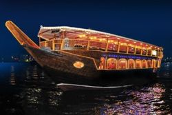 Dhow Dinner Cruise Abu Dhabi From Vootours Llc | Vo