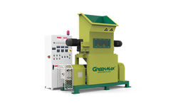 Offers and Deals in UAE For Greenmax m-c100 styrofoam densifier for sale