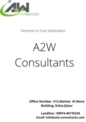 Canada Immigration Consultant in Qatar From A2w Consultants | A2