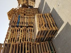 used wooden pallets-0555450341