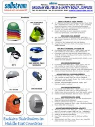 Helmet & Face shield ... from Uruguay Group Of Companies  Abu Dhabi, UNITED ARAB EMIRATES