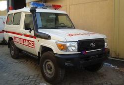 Ambulance Conversion from Krend Medical Equipment Trading Dubai, UNITED ARAB EMIRATES