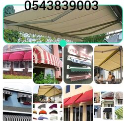 RETRACTABLE AWNINGS SUPPLIERS 0543839003 from Car Parking Shades ( Al Muzalaat ) Sharjah, UNITED ARAB EMIRATES