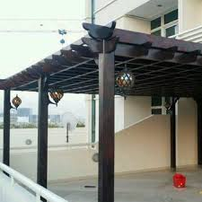 WOODEN PERGOLA SUPPLIERS 0543839003 from Car Parking Shades ( Al Muzalaat ) Sharjah, UNITED ARAB EMIRATES