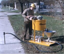 SAND AND CEMENT SCREEDING PUMPS from Ace Centro Enterprises Abu Dhabi, UNITED ARAB EMIRATES