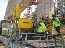 CHEMGROUT MACHINE FOR ROOF WATER PROOFING from Ace Centro Enterprises Abu Dhabi, UNITED ARAB EMIRATES