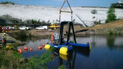 REMOTE OPERATED ELECTRIC DREDGER from Ace Centro Enterprises Abu Dhabi, UNITED ARAB EMIRATES