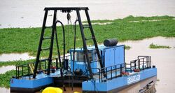 REMOTE CONTROLLED DREDGER FOR WATERFALL MAINTENANC from Ace Centro Enterprises Abu Dhabi, UNITED ARAB EMIRATES