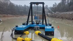 REMOTE CONTROLLED SAND DREDGING PUMPS  from Ace Centro Enterprises Abu Dhabi, UNITED ARAB EMIRATES