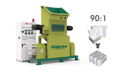 greenmax polystyrene melting machine mars c200