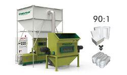 greenmax polystyrene melting machine mars c300