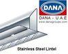 DANA ASTM A-525/JIS. G33302 STAINLESS STEEL LINTEL