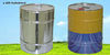 Cylindrical Cans Range with pressure Caps & Open