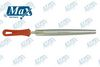 Half Round File Electroplated