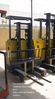 Komatsu 1.3 Ton Electric Reach Truck Stand On Type