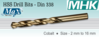 HSS Drill Bits DIN 338 Cobalt